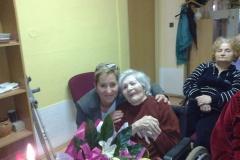 12.9.2013 Oslava 90. narodenín p. Velebírovej