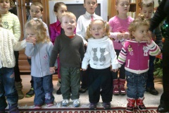 13.12.2012 Vianočné vystúpenie detí z MŠ Veľké Kapušany