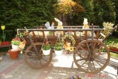 14.04.2011- Veľkonočná výzdoba areálu Domova,n.o