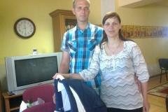 17.6.2013 Krstiny v rodine koleginky p. Barančíkovej Obšitníkovej