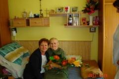 28.06.2011 - Oslava 80. narodenín p. Koporovej klientky Domova,n
