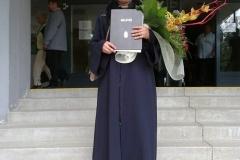 29.6.2013- Úspešné ukončenie VŠ koleginky p. Koterle Ósz Zsuzsanna